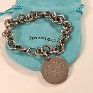 Tiffany & Co. Sterling Silver Chainlink Bracelet